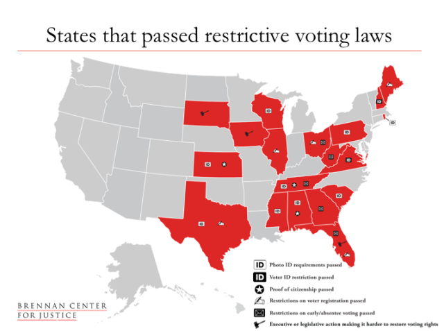 Courts Block GOP Voter Suppression Laws | The Nation